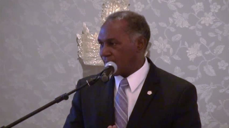 Nevis Premier addresses participants at AML/CFT Seminar and Training Workshop